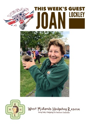 Joan Lockley West Midlands Hedgehog Rescue
